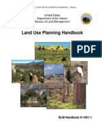 USDI BLM Land Use Planning Handbook