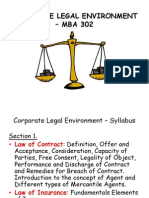 Corporate Legal Environment