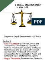 Corporate Legal Environment