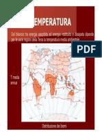 5. Temperatura e Adattamenti