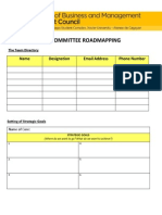 ROADMAPPING FORM - Core Committee