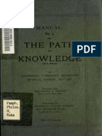 A Manual on the Path of Knowledge  (Jnana Marga)