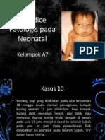 Jaundice Patologis pada Neonatal
