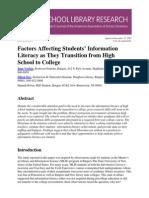 SLR FactorsAffecting V17