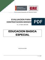 Educacion Basica Especial Sub Prueba 2 y 3