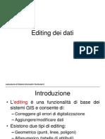 4 - Editing Dei Dati