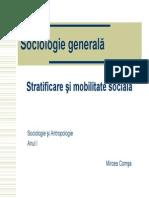 Stratificare Si Mobilitate Sociala-Mircea Comsa