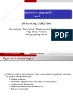 Curs4 - Fundamental Programing