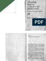 Abordaje Teorico y Clinico Del Adolescente Fernandez Moujan Octavio