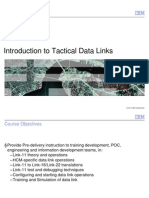 Introduction  To Tactical Data Links