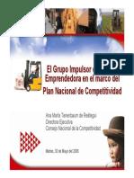 Competitividad CNC Peru
