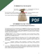 Curriculum Saco