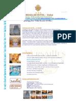 Hotel Versailles Dubai Introduction
