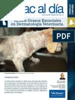 Acidos Grasos Esenciales en Dermatologia Vet.