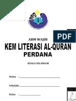 KLAQ KEM LITERASI AL-QURAN PERDANA 2009 - ABM WAJIB