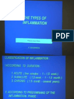 Pathanatomy Lecture - 09 Types of Inflamation