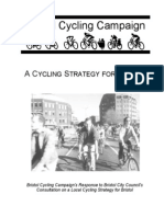 Old Bristol Cycling Strategy Reply