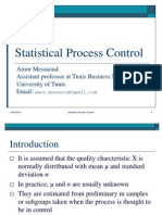 Statistical Process Costantrol
