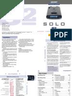 Esort Radar s2 Manual