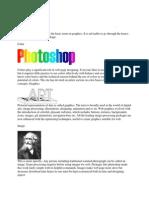 Basic Graphics Terms