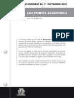 ReOpen911 - Les Points Essentiels