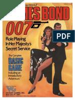 James Bond RPG - Basic Game