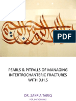 Pearls & Pitfalls of Managing Intertrochanteric Fractures with SHS