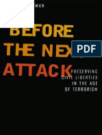 Before the Next Attack. Preserving Civil Liberties in a Age of Terrorism_Bruce Ackerman