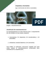 Noradrenalina, Dopamina e Serotonina