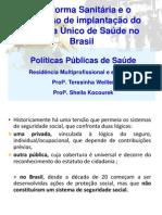 Reforma Sanitria_SUS Aula 19.03
