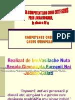 Dezvoltarea Competentelor Cheie Citit-scris (1)