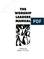 Worship Leader Manual