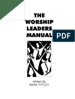Worship Leader Manual