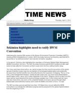 Maritime News 03 April 14