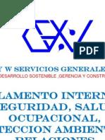 Reglamento Interno de SSPA Con Politica Actualizado GYW