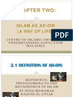 Islam as Ad Din ( Way of Life)