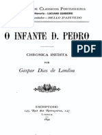 Crónica do infante D. Pedro, vol. 1