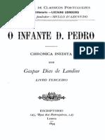 Crónica do infante D. Pedro, vol.3