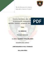 Monografia Tema El Derecho (1)