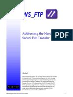 Secure Ftp seminar