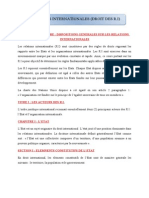 RELATIONS INTERNATIONALES.doc
