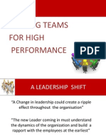 Leading_Teams for High Performance