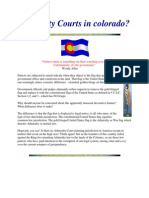 Admiralty Courts in Colorado