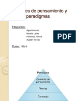 Corrientes de Pensamiento y Paradigmas Ayee Torello