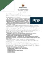 Carta de la Paris pentru o noua Europă