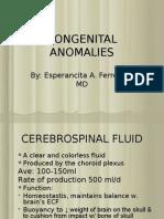 congenital anomalies