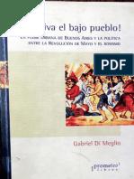 Di Meglio, Viva El Bajo Pueblo