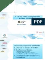 Twitter Presentacion Del Estudio