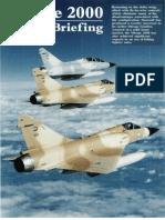 Dassault Mirage 2000 Variant Briefing