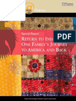 Return to India Wharton Special Report